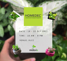 Join us for the HomeDec Exhibition in this coming weekend!!!