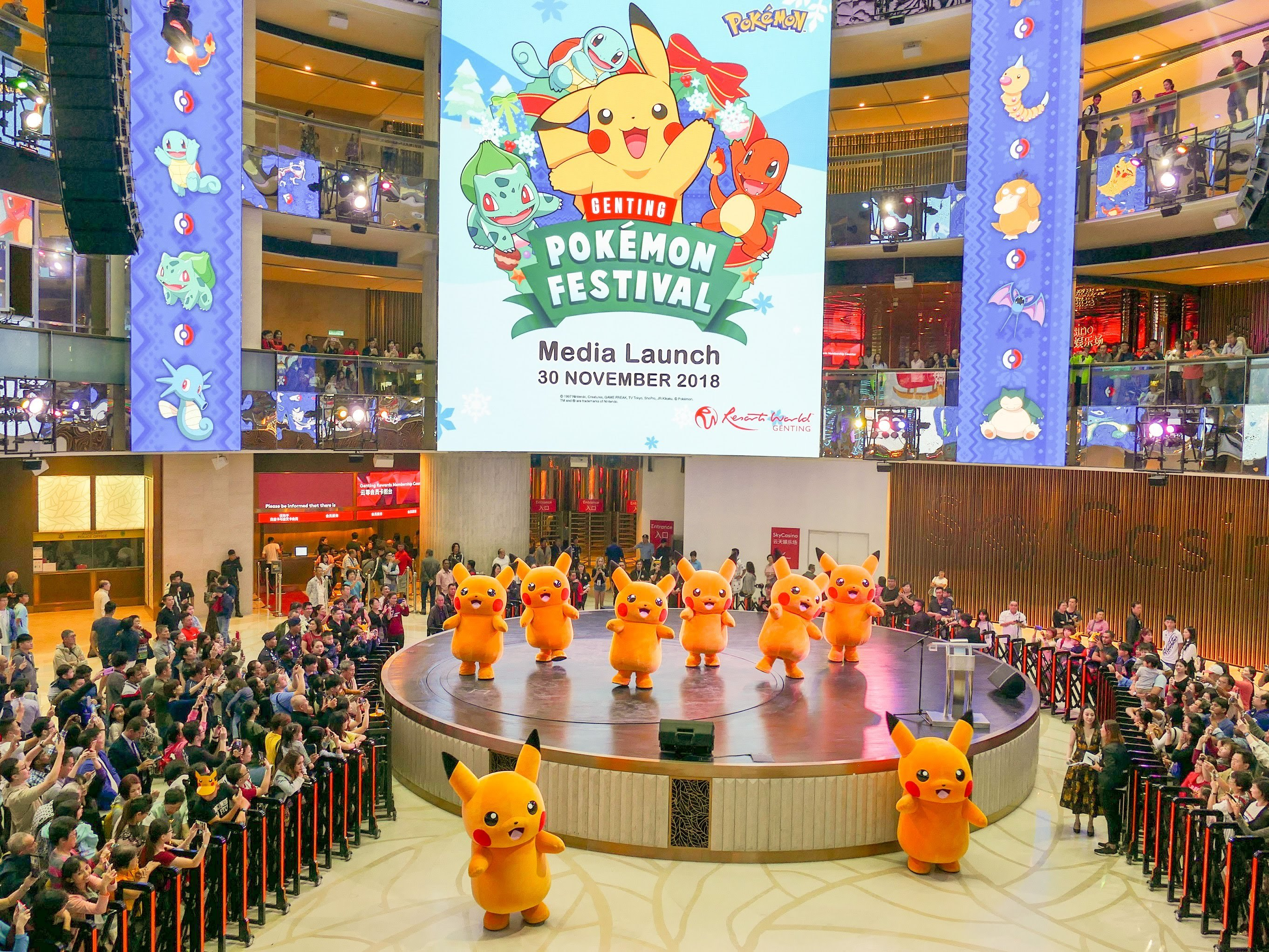 Pokemon fever hits Resorts World Genting at Malaysia's First Ever Pokemon Festival