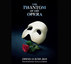 Andrew Lloyd Webber's THE PHANTOM OF THE OPERA to premiere in Kuala Lumpur