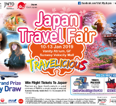 【Event】January 12 /Japan Travel Fair - Mr. Takuya HIRAI Minister of State for Cool Japan Strategy will attend the talk show @ KL